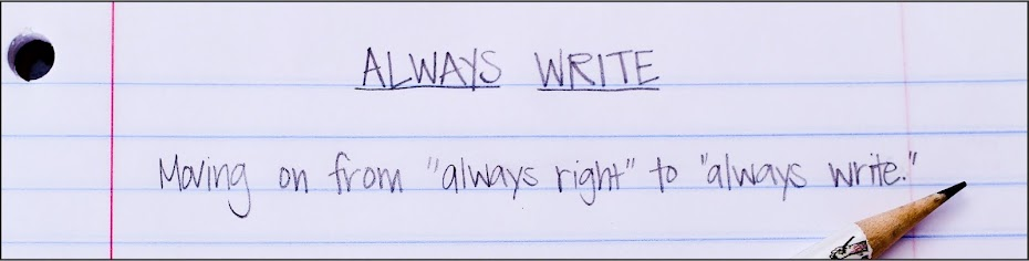 Donna Nolan: Always Write