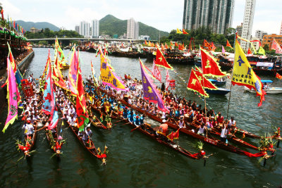 DUAN WU / DRAGON BOAT FESTIVAL (ALL PICTURES ARE VIDEOS)