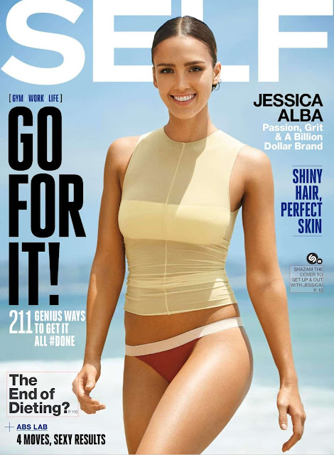 "Actress, Model @ Jessica Alba - Self Magazine, October 2015       <a href=""https://en.wikipedia.org/wiki/Jessica_Alba"" target=""_blank"" title=""Wikipedia "">(Wikipedia)</a>"