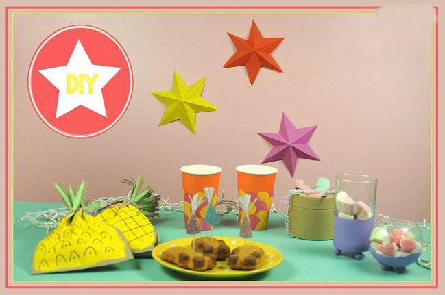 Manualidades para decorar originales estrellas para - Manualidades para habitaciones infantiles ...