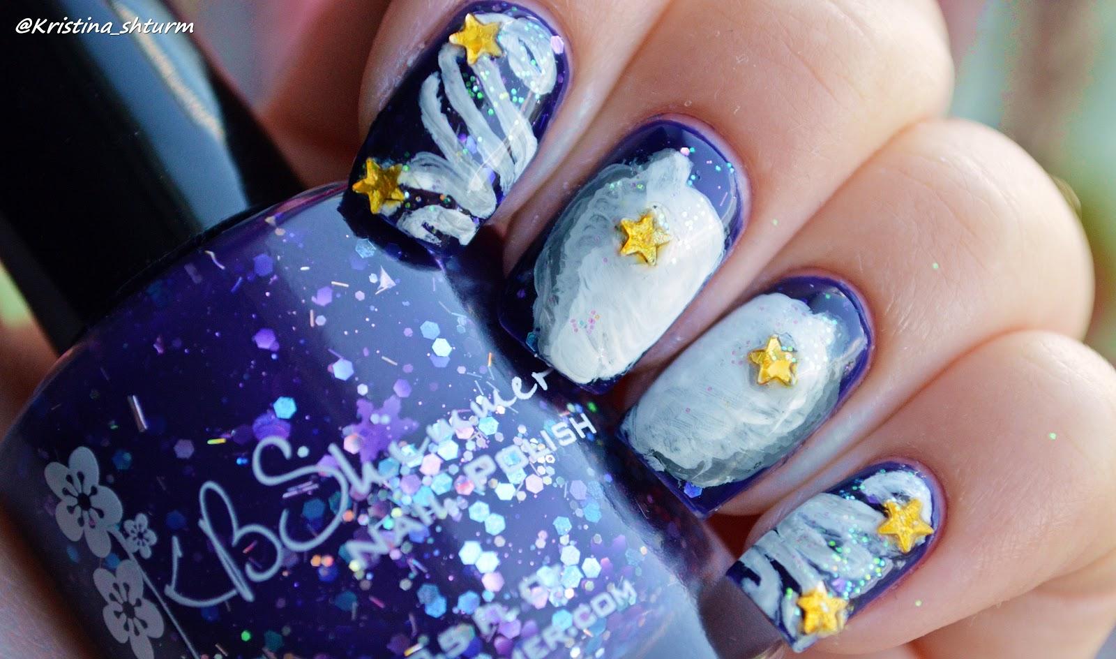 Знаки зодиака на ногтях маникюр