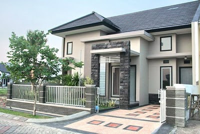 gambar depan rumah on rachmat hidayat: Juni 2011
