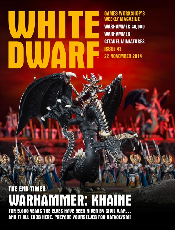 White Dwarf Weekly número 43 de Noviembre