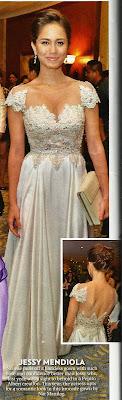 Jessy Mendiola Star Magic Ball 2012