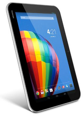 Toshiba Excite Pure - Full tablet specifications