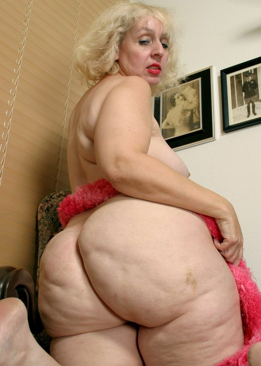 Ass grandma big