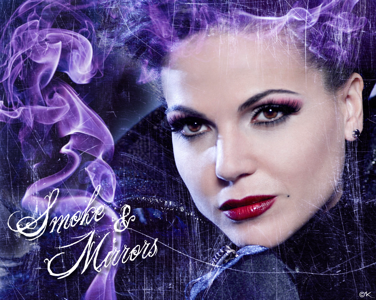 FormidableArtistry: Once Upon A Time Evil Queen Makeup