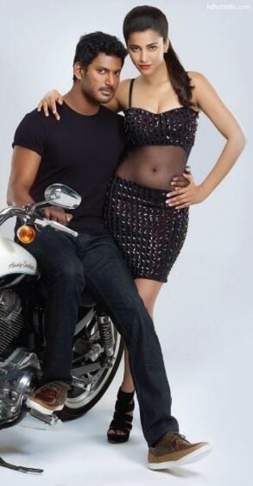 Shruti Hassan And Vishal Poojai First Look S