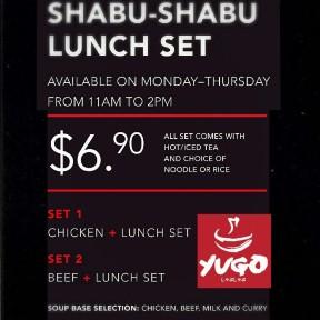 Yugo Charcoal Fire BBQ & Shabu