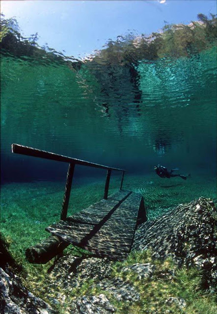 Amazing underwater in Austria