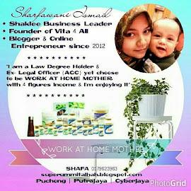 I am your Shaklee Independent Distributor (Sharfawani Ismail / ID 906985)