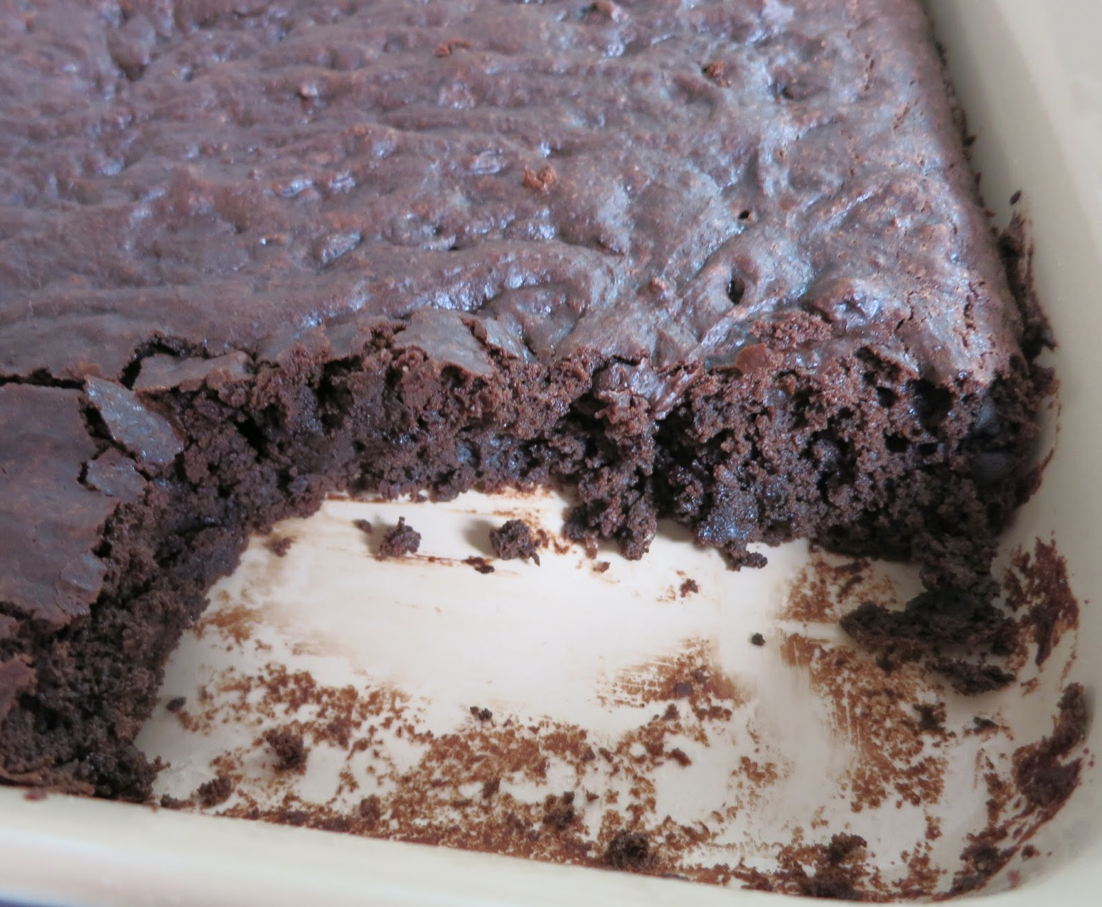 brownie is more like cake than what most of us think of as a brownie ...