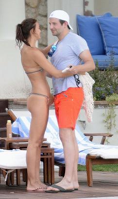 Bradley Cooper can't keep his hands off girlfriend Irina ...