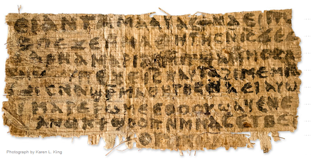 Ancient Coptic Text Contains Reference To Jesus Wife  Jesus-wife-papyrus