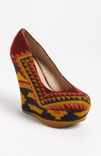 Steve Madden tribal shoes - iloveankara.blogspot.com