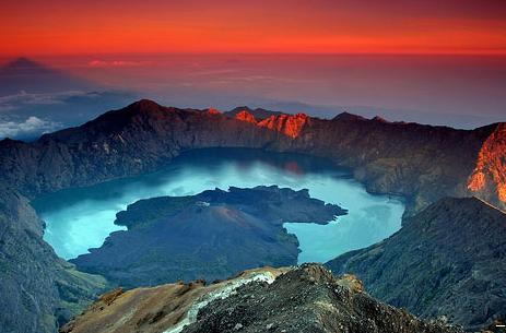 Tempat Wisata di Lombok Gunung Rinjani