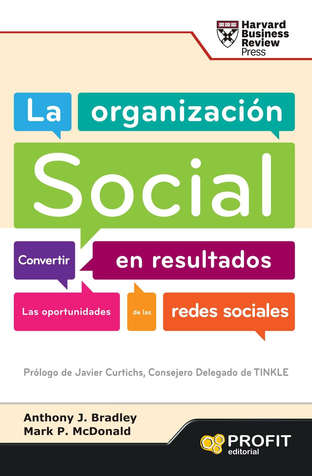 Nuevo Viernes - Nuevo Libro: LA ORGANIZACIÓN SOCIAL