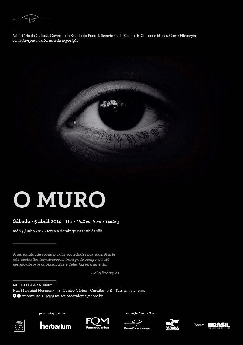 """O MURO' no MON - Museu Oscar Niemeyer - Curitiba"