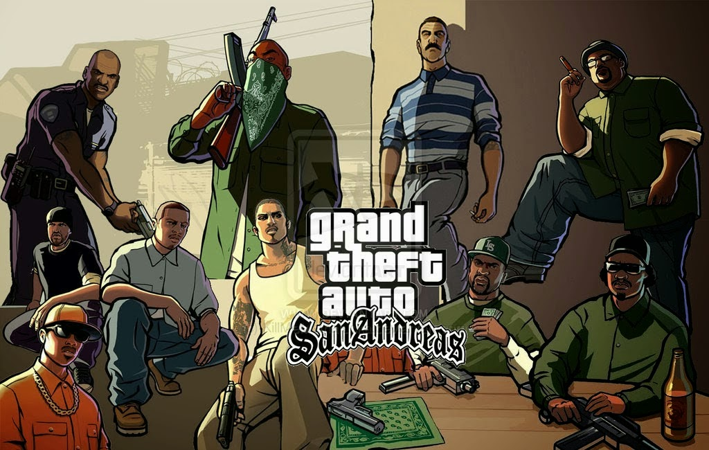 GTA San Andreas v1.07 Apk Full Data Android