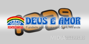 ouvir a Rádio Deus é Amor FM 96,9 ao vivo e online Porto Velho