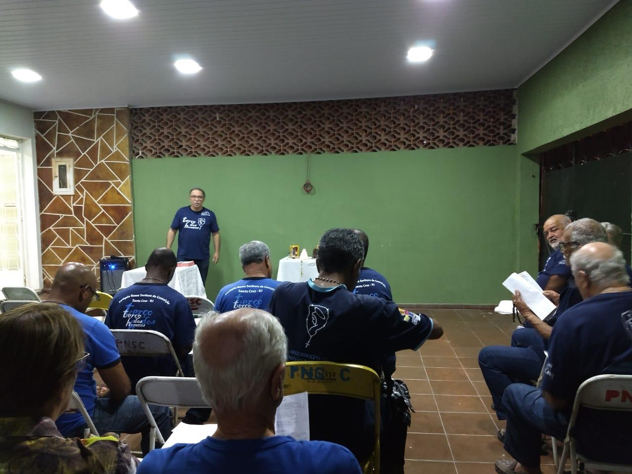 TERÇO NA CASA DO NOSSO IRMÃO HAMILTON EM 23/07/2018