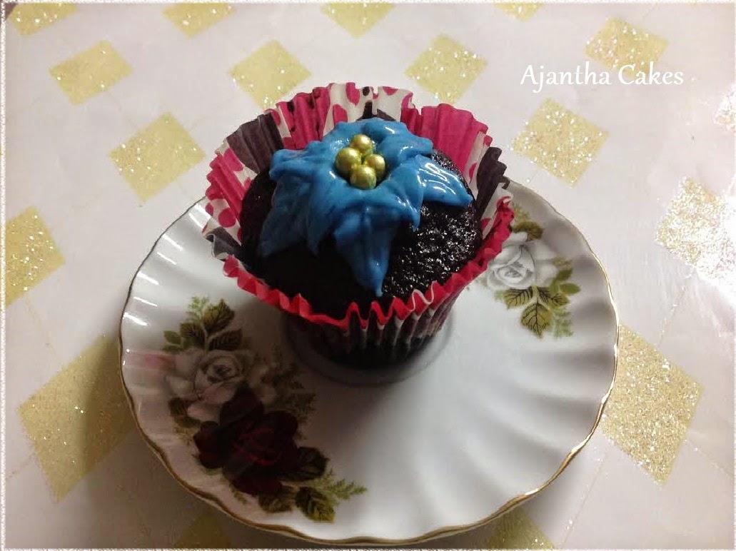Ajantha Cakes/Christmas Cupcake