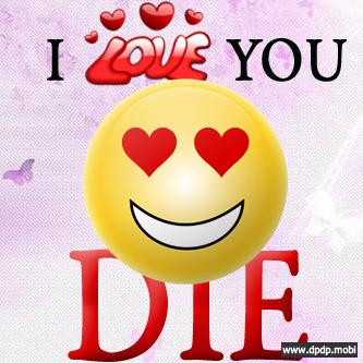 Gambar Tampilan di Bbm Blackberry_I love you die