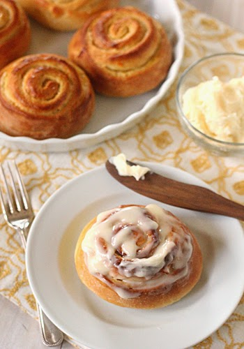 The Galley Gourmet: Orange Sweet Rolls with Cream Cheese Icing