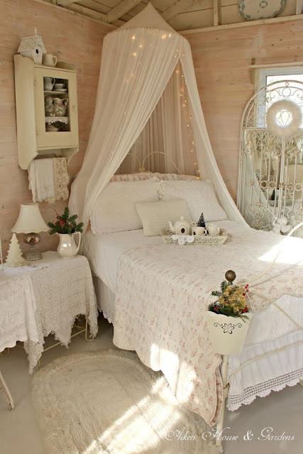 idee fai da te per arredare la camera da letto in stile shabby ... - Arredare Camera Da Letto Fai Da Te