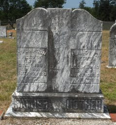 Grave of Thompson Reeves, son of Frederick, in Walton, Georgia