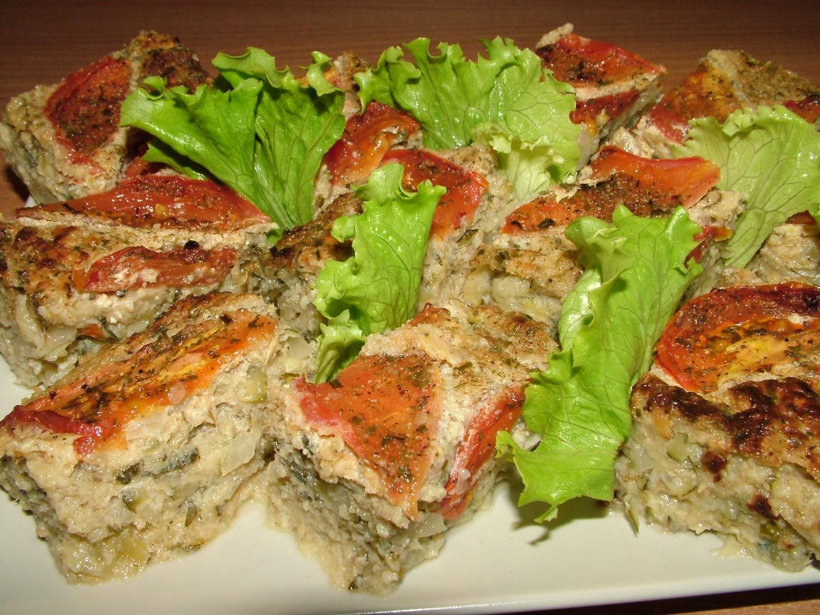 Pasztet z tuńczykiem i białym serem