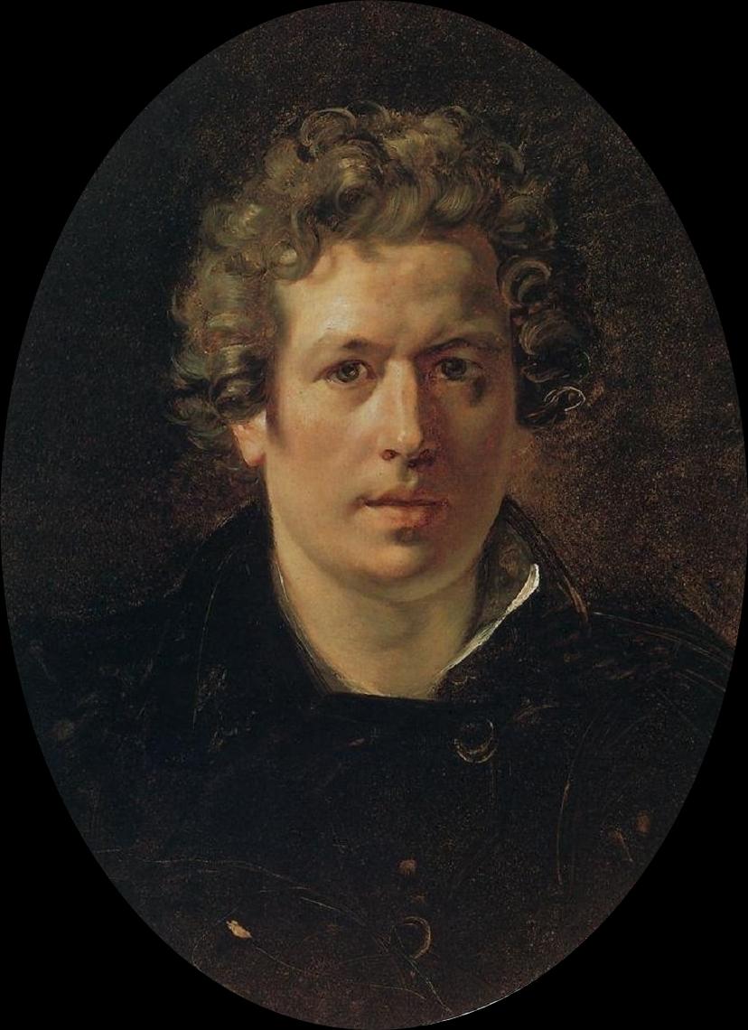 Karl   riullov  Self portrait C