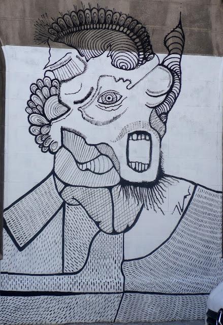street art santiago de chile barrio yungay brasil graffiti arte callejero