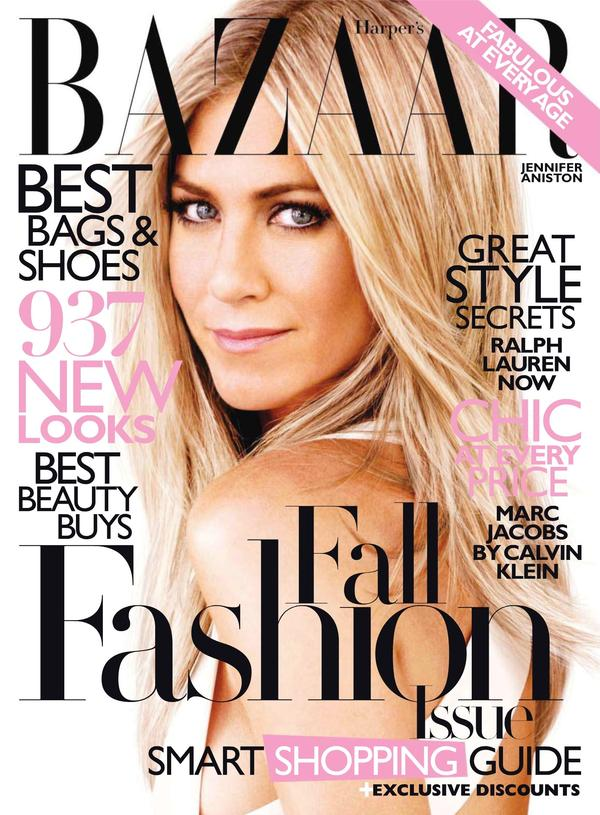 The Aniston Site: Jennifer Aniston, the Magazine Cover Queen