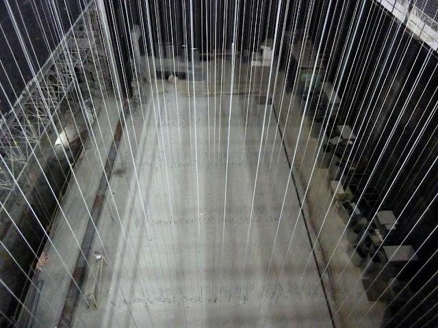 AASB visita CREAA. Sistema de varas contrapesadas del Auditorio