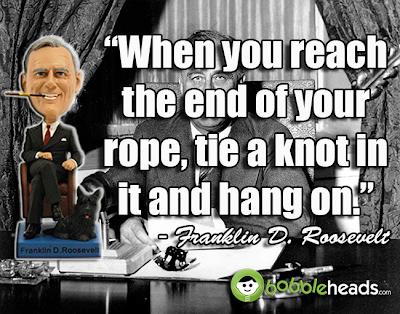 President Franklin Roosevelt FDR Bobblehead