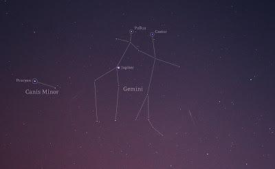 geminid meteor composite