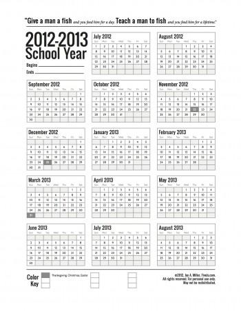 photograph about Homeschool Calendar Printable known as Free of charge Printable Homeschool Calendar
