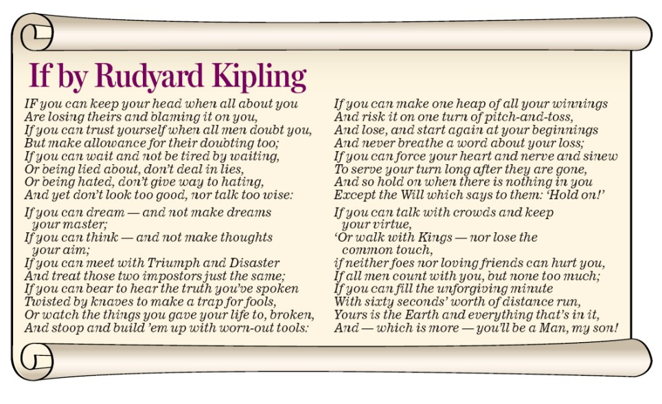 the orthodox christian channel occ if by rudyard kipling poem  if by rudyard kipling poem
