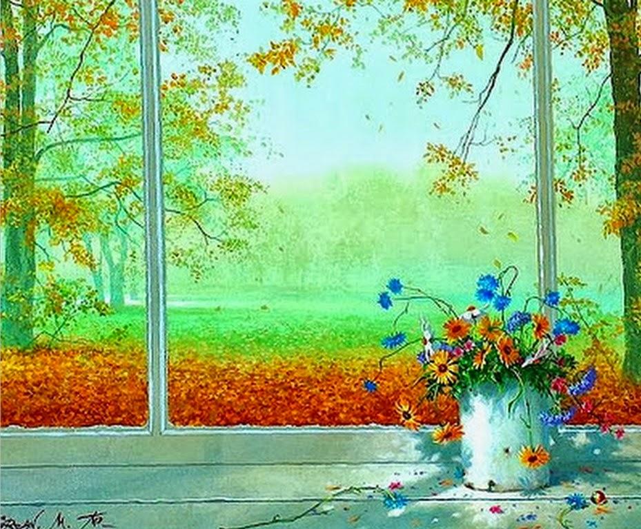ventanas-con-flores-pintura-impresionista
