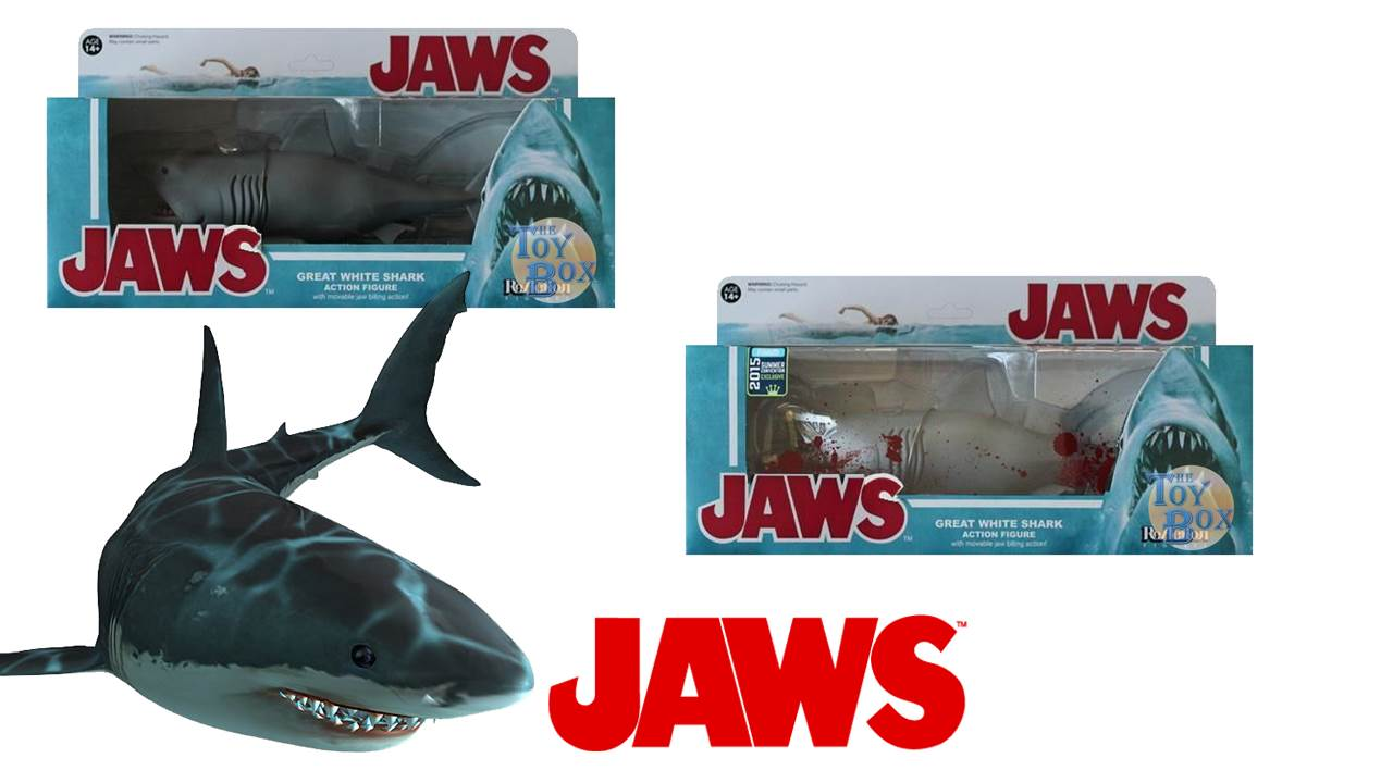 Shark Toy Box : The toy box jaws funko reaction figures