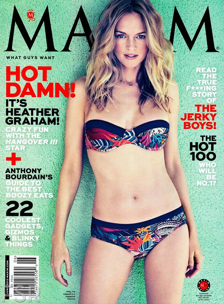 "Heather Graham &Quot;maxim"" Us June 2013"