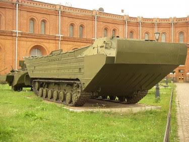 PTS Plavayushij Transportyor – Srednyj (PTS-M)