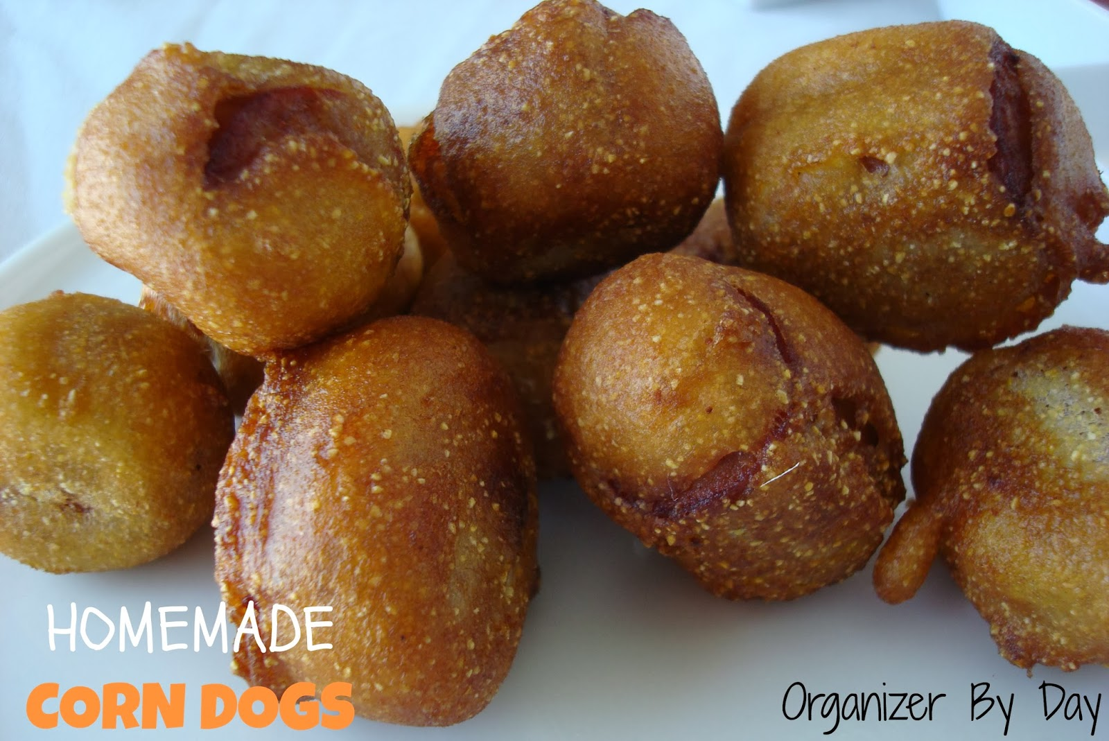 how to make homemade corn dog batter without cornmeal