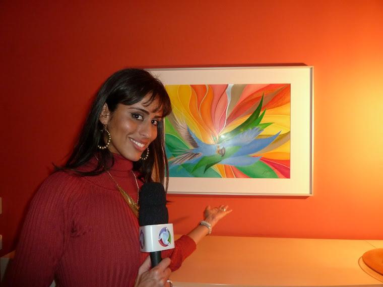 TV Moderatorin von  Rede Record -  Conexão Alemanha , Rafaela Carrijo