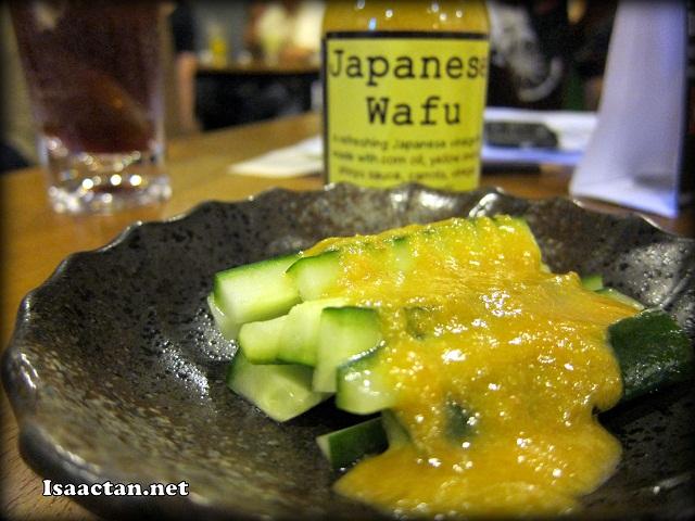 Wafu Kyuri Salad RM2.00