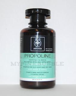 Apivita champú propoline raíces grasas