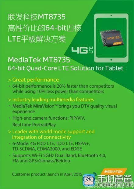 MediaTek-MT8735