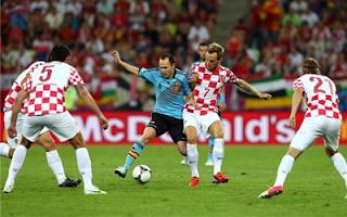 أهداف مباراة اسبانيا وكرواتيا 1-0 في بطولة اليورو 18-6-2012