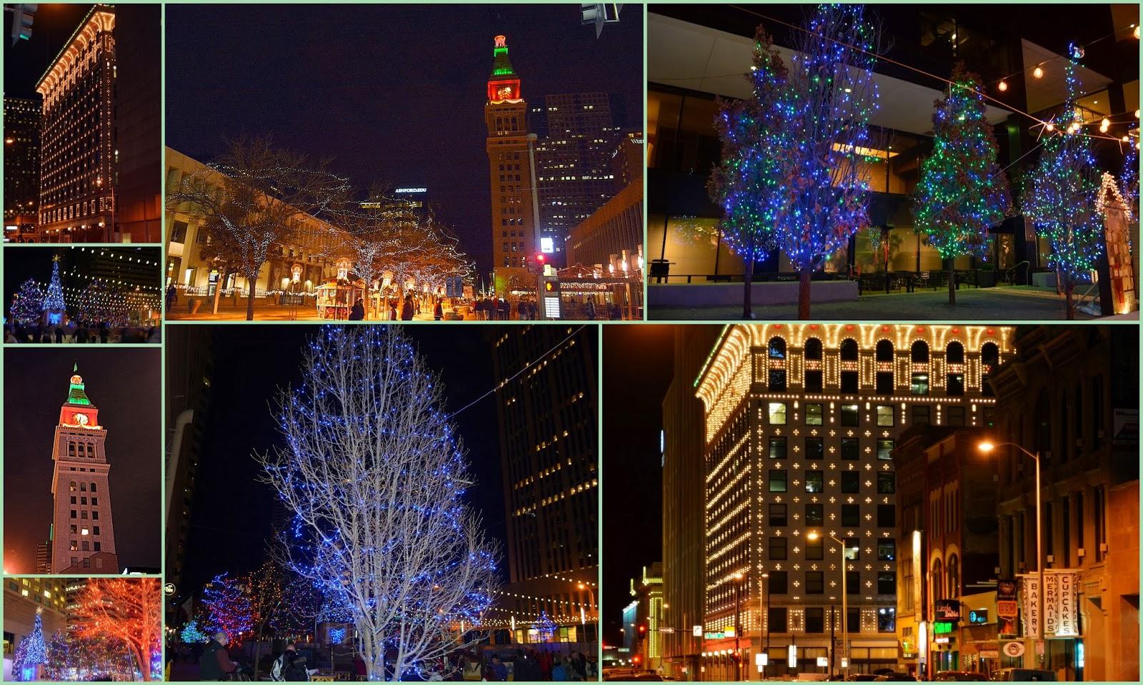 Denver Christmas Lights!!